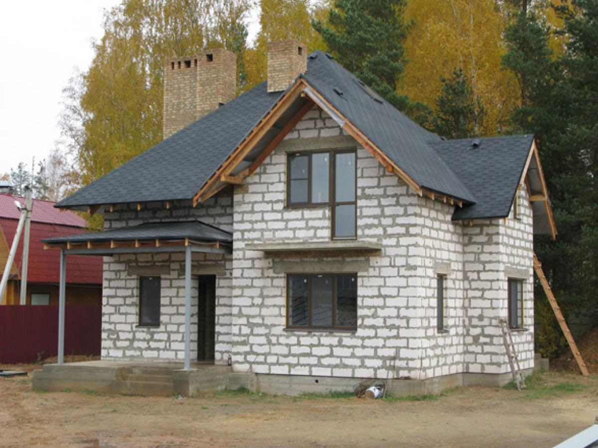 сколько стоит дом из газоблока
